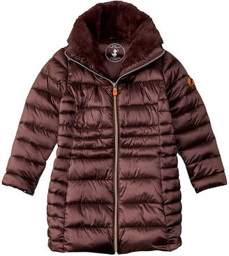 Save The Duck Mock Collar Puffer Jacket