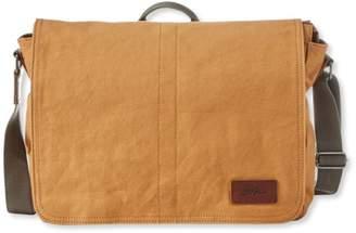 L.L. Bean L.L.Bean Field Canvas Messenger Bag