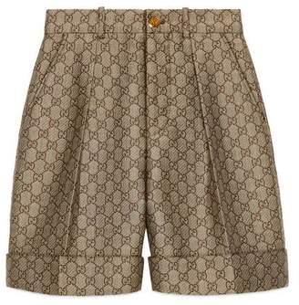 Gucci GG wool canvas shorts