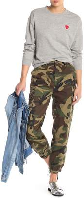 Know One Cares Camo Cargo Jogger Pants