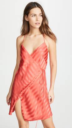 Mason by Michelle Mason Slit Mini Dress