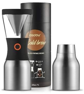 ASOBU Kool Brew Coffee Maker - Silver
