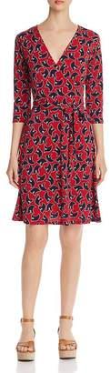 Leota Printed Faux-Wrap Dress
