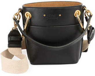 Chloé Roy Small Smooth Calf Leather Bucket Bag