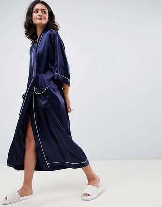 Asos 100% Silk Robe