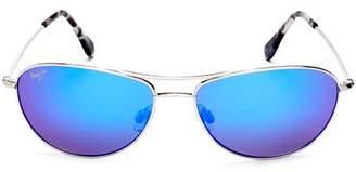 Maui Jim Women's Baby Beach Sunglasses, 56mm