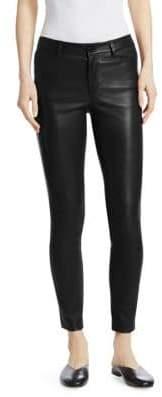 Theory Bristol Leather Five-Pocket Pants