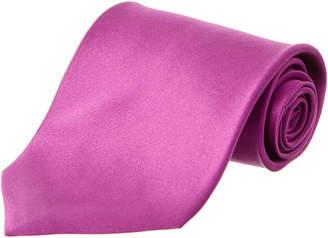 Brioni Dark Purple Silk Tie