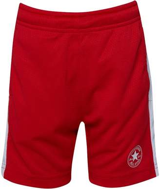 Converse Boys Mesh Shorts Red
