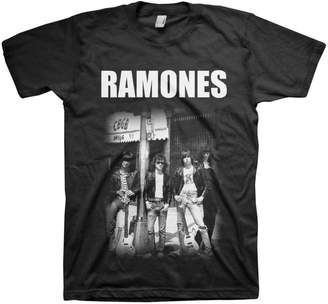 CBGB Ramones - Mens Group Photo T-Shirt