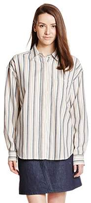 Avan Lily (アヴァン リリー) - (アヴァン リリー)Avan Lily ヘリンボンシャツ 1809S130-2040 WHT FREE