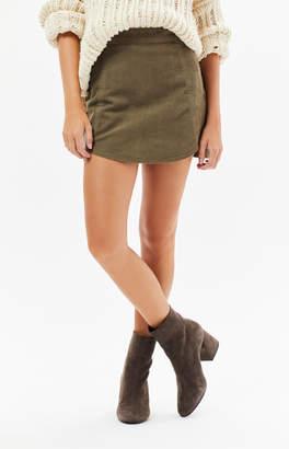 Pacsun Corduroy Tulip Skirt