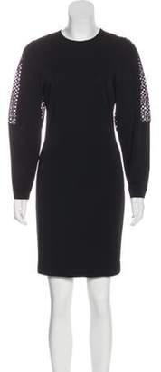 Stella McCartney Mini Sheath Dress Black Mini Sheath Dress