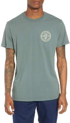 Obey Superior Dissent Standards Tee