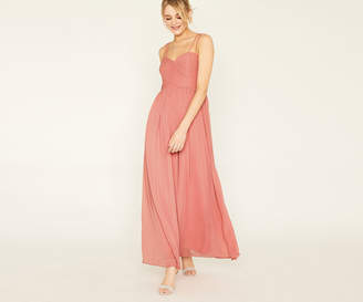 Oasis LUCY CHIFFON PLEATED MAXI