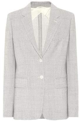 Max Mara Kent checked wool blazer