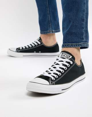Converse Ox Sneakers In Black M9166C