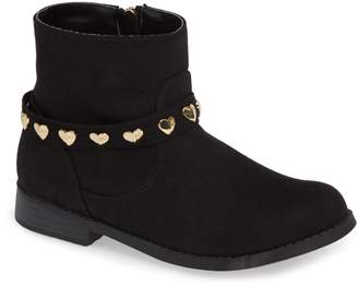 MICHAEL Michael Kors Emma Melo Studded Faux Leather Bootie