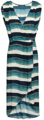 Vix Paula Hermanny Wrap-effect Woven Dress