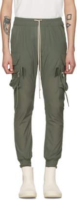 Rick Owens Green Jog Cargo Pants