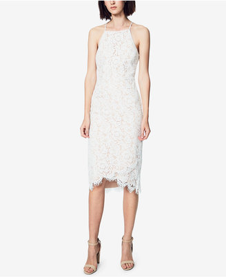 Fame and Partners Corded Lace Apron Dress $229 thestylecure.com