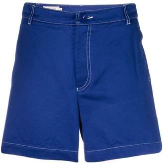 MAISON KITSUNÉ satin shorts