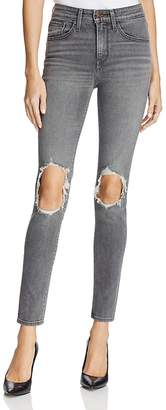 Levi's 721® High Rise Skinny Jeans in Washed Black $89.50 thestylecure.com