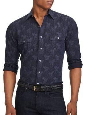 Ralph Lauren Standard-Fit Cotton Button-Down Shirt