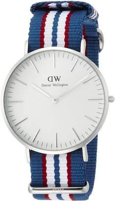Daniel Wellington Belfast White Dial Stainless Steel Quartz Men's Watch