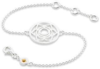 Thomas Sabo Women 925 Sterling Silver silver Chain Bracelet - A1714-140-6-L19v x47FQD