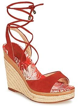 JB Martin LAVINIA women's Sandals in Red