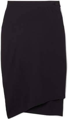Vivienne Westwood - Polina Asymmetric Crepe Skirt - Black