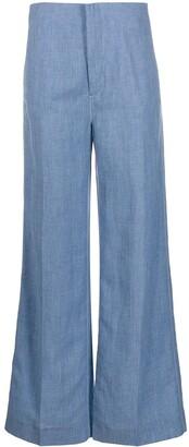 Joseph flared trousers
