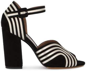 Tabitha Simmons Alexis wave ankle strap sandals