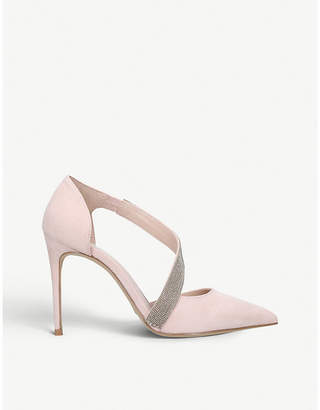 Carvela Artemidis faux-suede court shoes