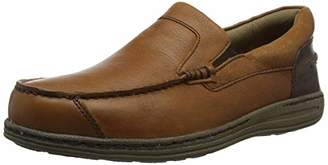 15f864ddd0b Mens Tan Leather Moccasin Shoes - ShopStyle UK