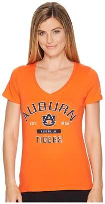 Champion College Auburn Tigers University V-Neck Tee Women's T Shirt