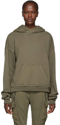 Haider Ackermann Grey French Terry Hoodie