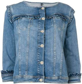 Liu Jo ruffled denim jacket
