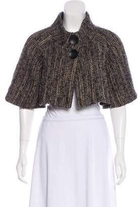 Theory Virgin Wool Tweed Bolero