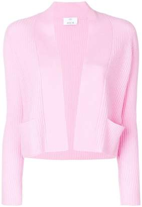 Allude ribbed cardigan