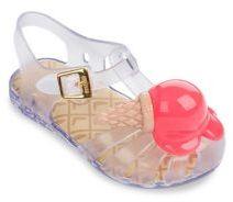 Mini Melissa Mini Aranha Sandals $60 thestylecure.com