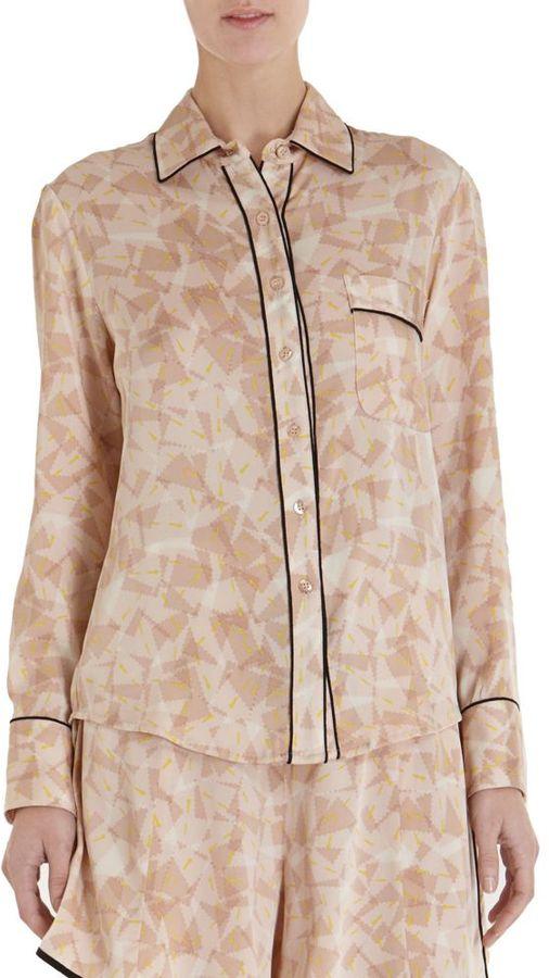 Piamita Isabella Pajama Shirt
