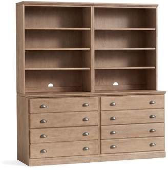 Pottery Barn Printer's Wall Suite with Drawers