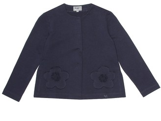 Il Gufo Cotton jersey jacket