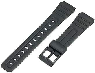 Casio Voguestrap TX1852 Allstrap 18mm Black Regular-Length Fits and Other Sport Watch Band