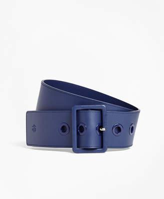 Brooks Brothers Wide Leather Waist Belt