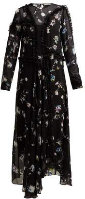 Preen Line Sana Floral Maxi Dress - Womens - Black Multi
