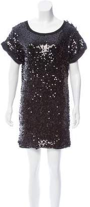 See by Chloe Short Sleeve Sequined Dress w/ Tags
