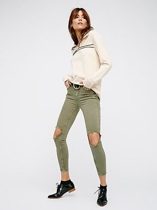 High Rise Busted Skinny by Free People $78 thestylecure.com